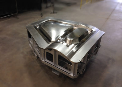 Molds for composites made of metal